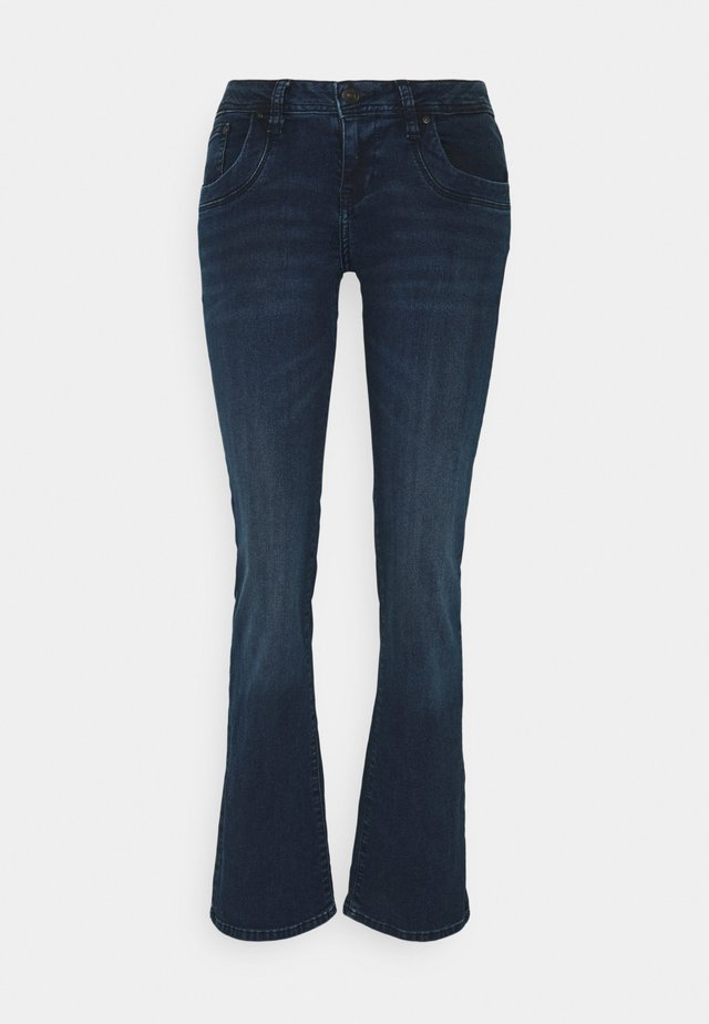 VALERIE - Jeans bootcut - patriot blue wash
