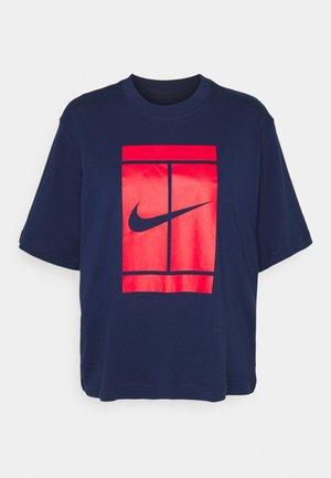 TEE COURT - T-Shirt print - binary blue