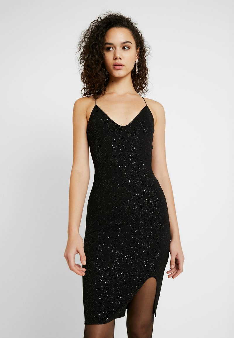 Nly by Nelly - BOMBSHELL SPARKLE DRESS - Cocktail dress / Party dress - black