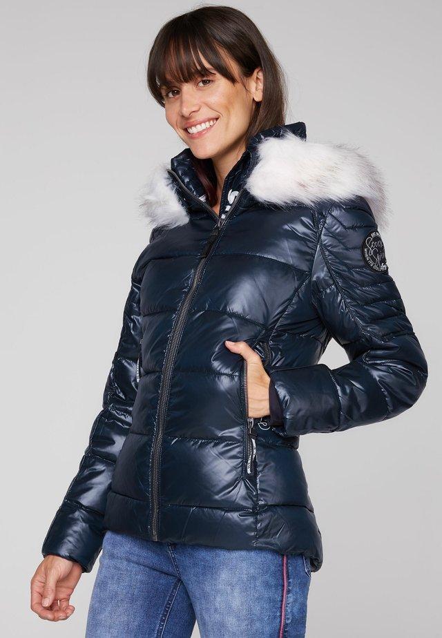 Winter jacket - blue navy