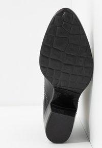MJUS - Kotníkové boty - nero - 4