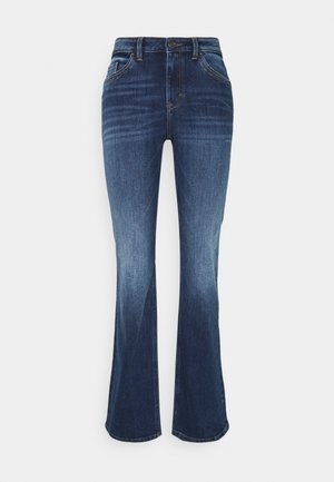 Jeans a zampa - blue dark wash