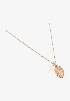 Halsband - rose goldfarbend