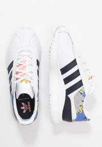 adidas Originals - ANDRIDGE - Trainers - footwear white/legend ink/glow pink - 3