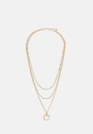 PCSELMA COMBI NECKLACE - Halsband - gold-coloured