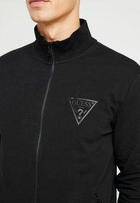 Guess - WIL TRACK SLIM FIT  - Zip-up hoodie - jet black - 5