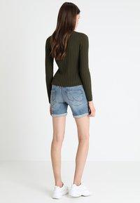 LTB - BECKY - Denim shorts - lewa wash - 2
