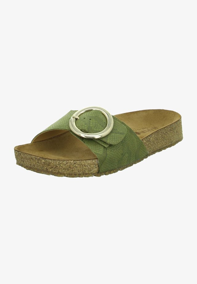Mules - grün