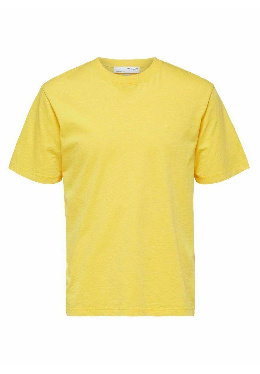 Herrer SLHRELAXHERB O NECK TEE - T-shirts basic