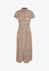 Soaked in Luxury - SLARJANA MAXI DRESS - Shirt dress - preppy animal peachy - 0