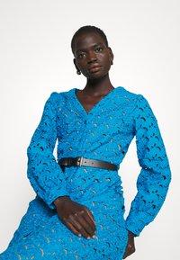 MICHAEL Michael Kors - EYELT KATE DRESS - Day dress - cyan blu - 3