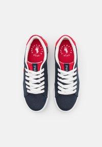Polo Ralph Lauren - GRAFTYN UNISEX - Trainers - navy/red - 3