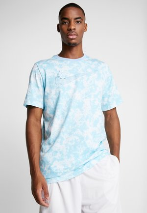 DRY TEE ICE - T-shirt med print - turquoise