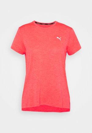 RUN FAVORITE TEE  - Print T-shirt - sunblaze heather
