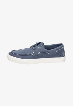 Boat shoes - blauw