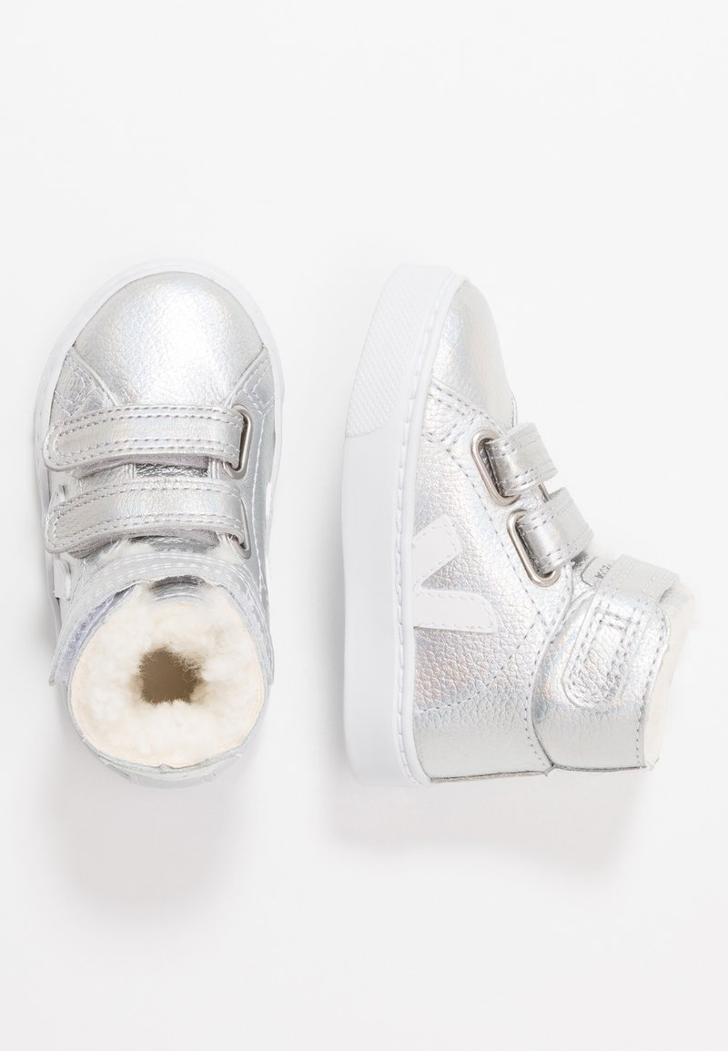 Veja - SMALL ESPLAR MID  - High-top trainers - unicorn white/white