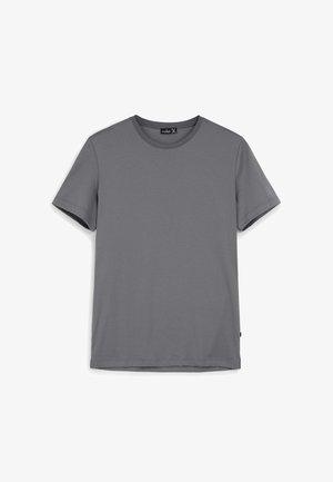 M-PARO - Basic T-shirt - mittelgrau