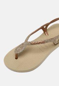 Havaianas - LUNA PREMIUM - Tongs - sand grey - 4