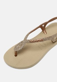 Havaianas - LUNA PREMIUM - T-bar sandals - sand grey - 4
