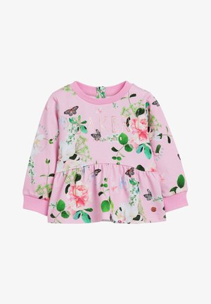 BAKER BY TED BAKER FLORAL PEPLUM - Mikina - pink