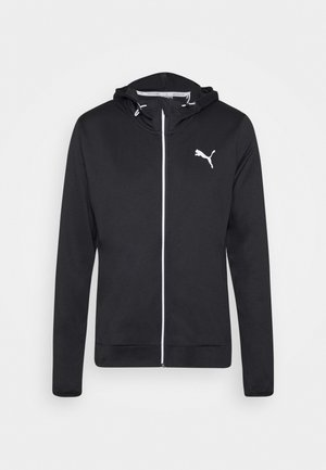 RTGFZ - veste en sweat zippée - black