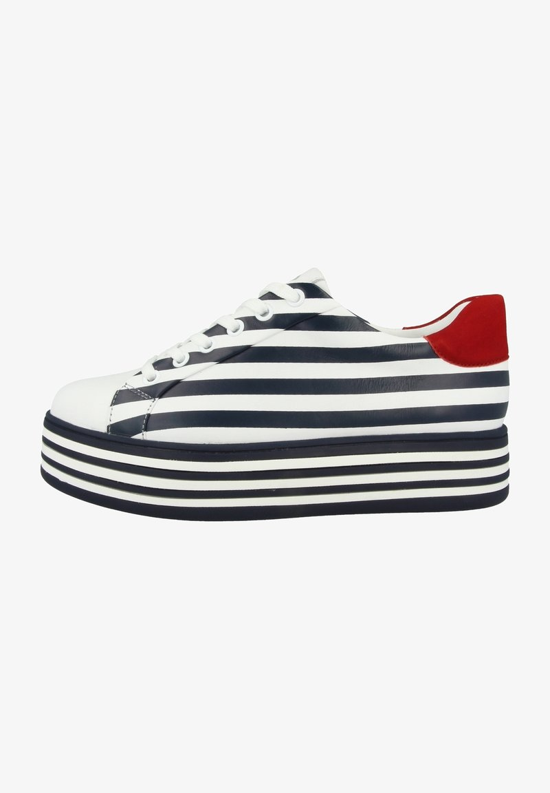Gerry Weber - Sneakers laag - white blue