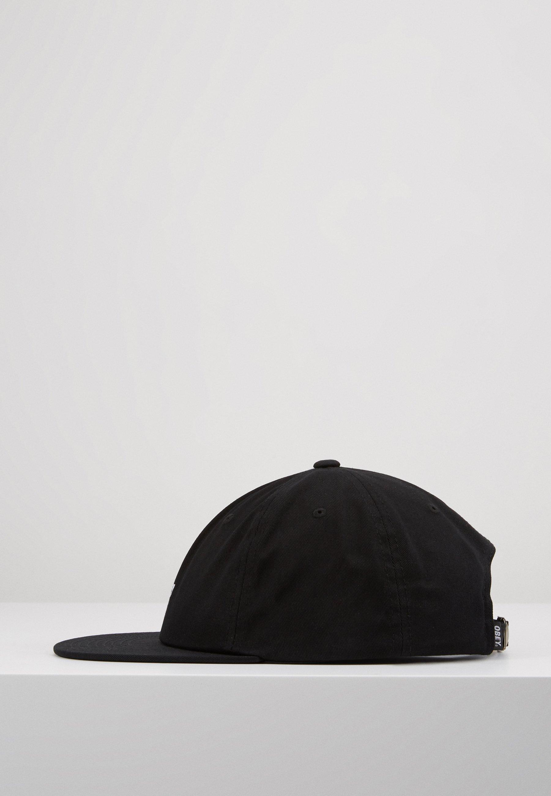 Obey Clothing Jumbled 6 Panel Strapback - Cap Black/schwarz