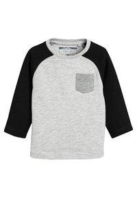 Next - 3PACK  - T-shirt à manches longues - black - 3