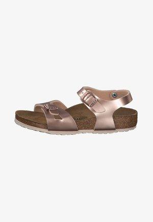 RIO - Sandals - bronze
