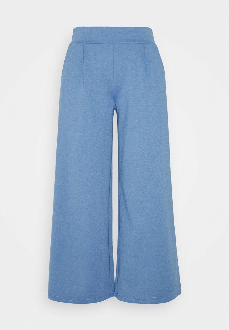 ICHI - KATE WIDE - Trousers - coronet blue