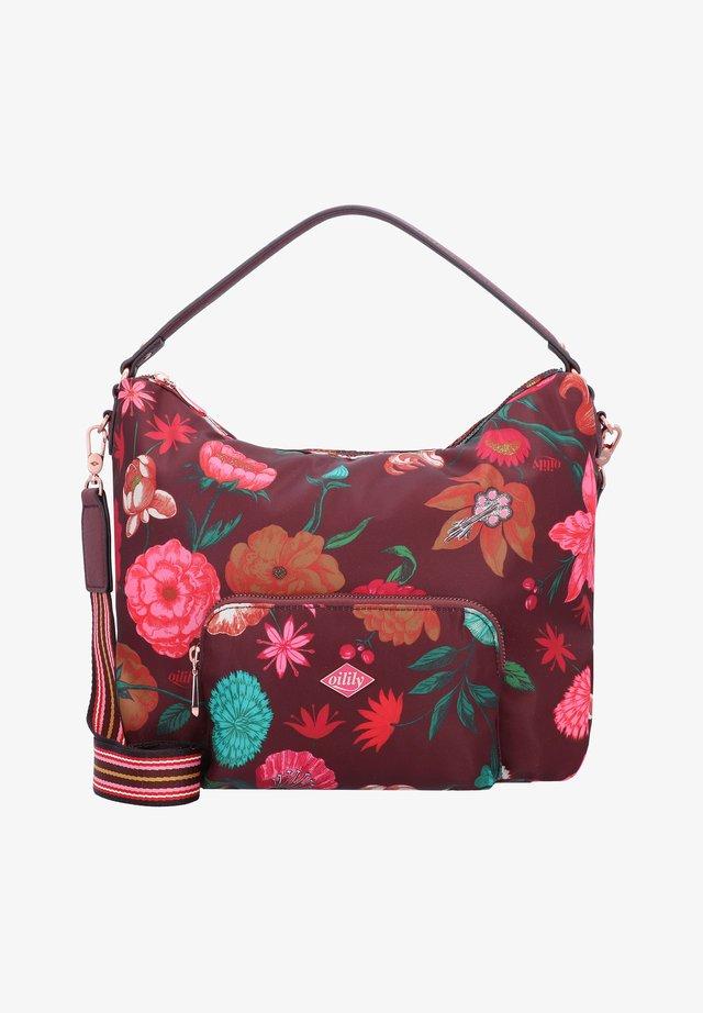 Handbag - burgundy blaze