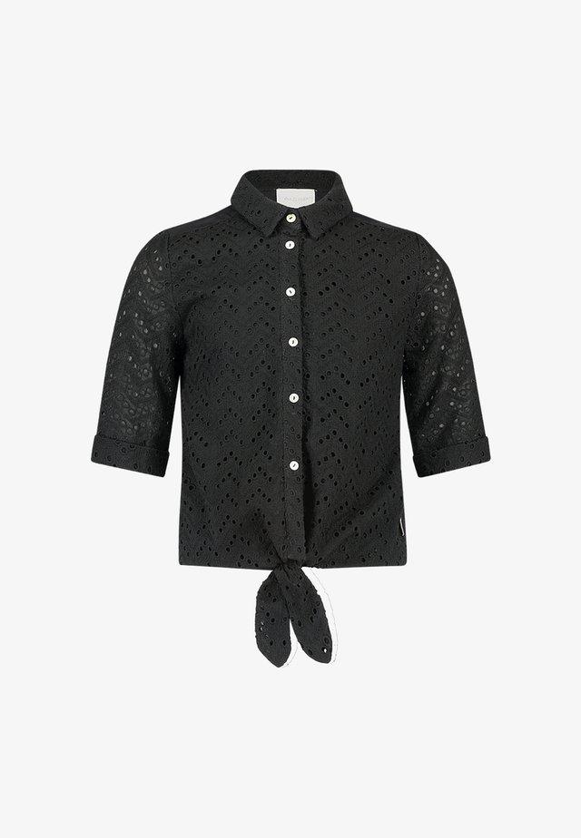 CYLI - Button-down blouse - zwart