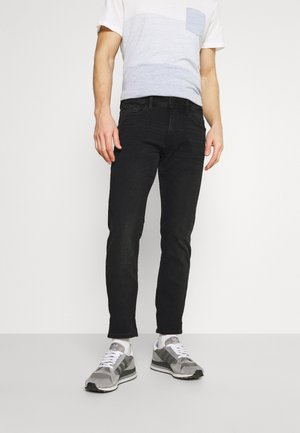 SLIM PIERS STRETCH - Slim fit jeans - dark stone black denim