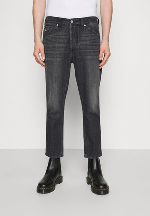 DAD JEAN - Jeansy Relaxed Fit - black