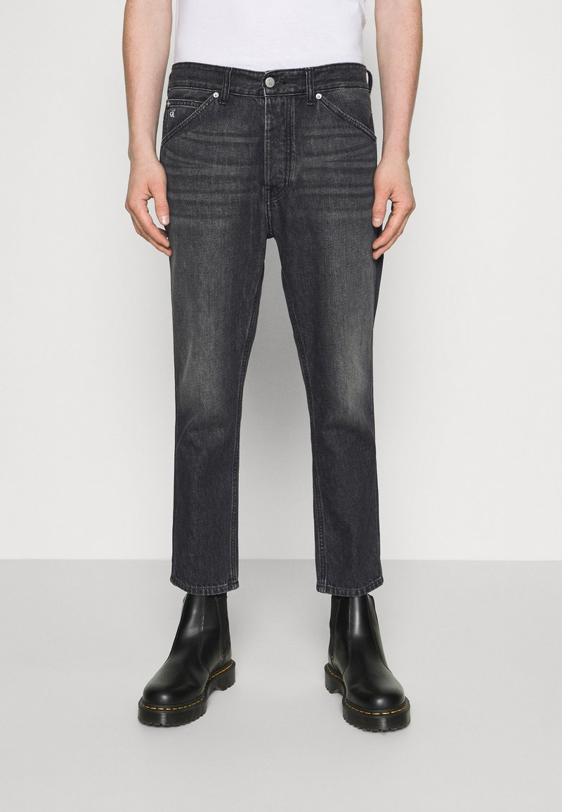 Calvin Klein Jeans - DAD JEAN - Relaxed fit jeans - black