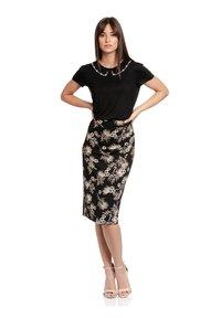 Vive Maria - TROPICAL HAWAII - Pencil skirt - schwarz allover - 1