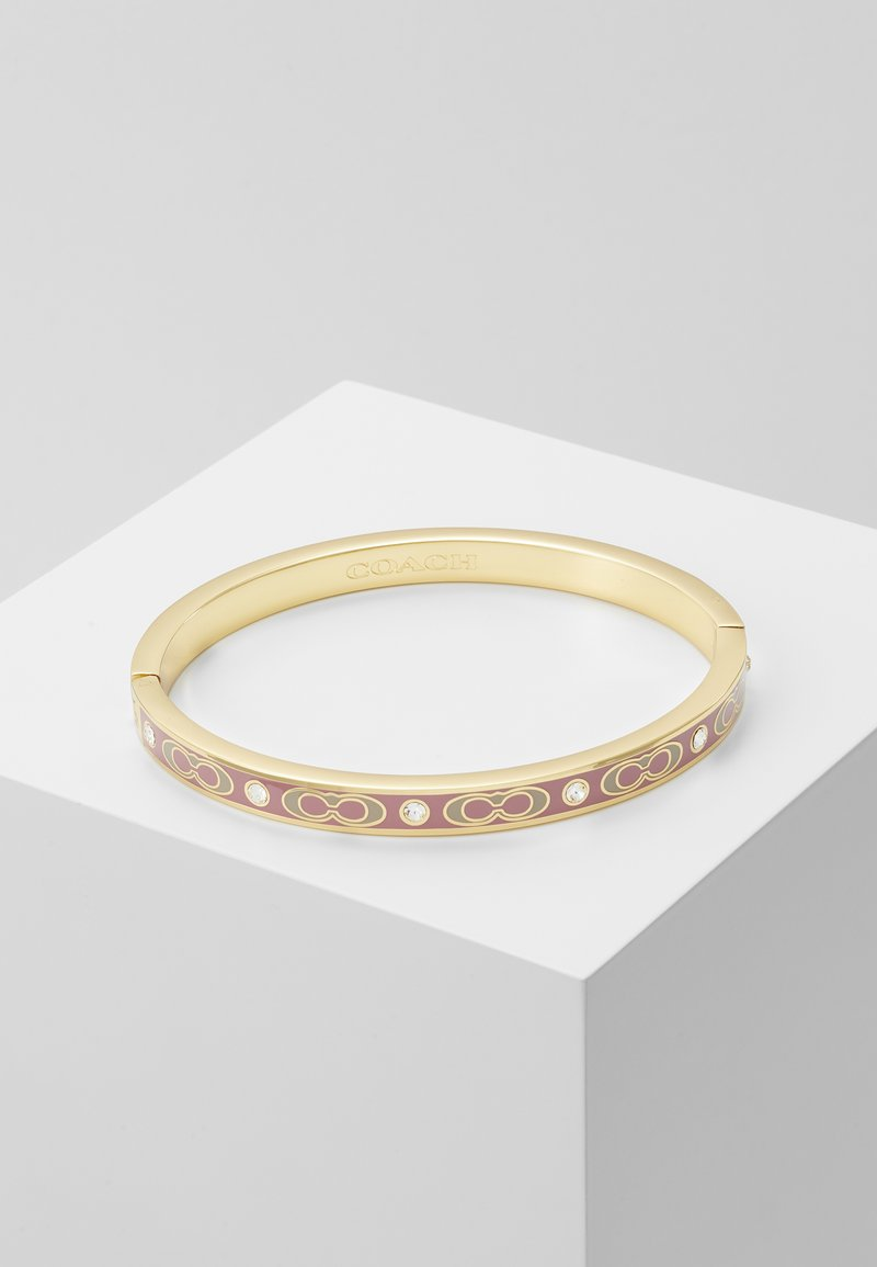 Coach - HINGED BANGLE - Rannekoru - gold-coloured/dusty rose