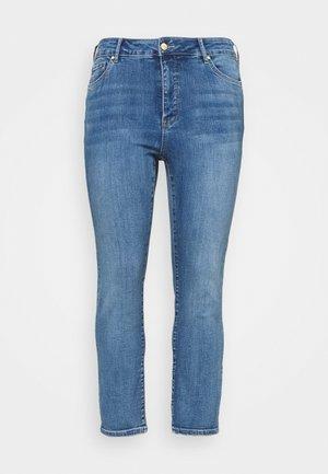 HAZEL CURVE HIGH RISE - Slim fit jeans - tulum blue