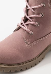 Friboo - Bottines à lacets - old pink - 2