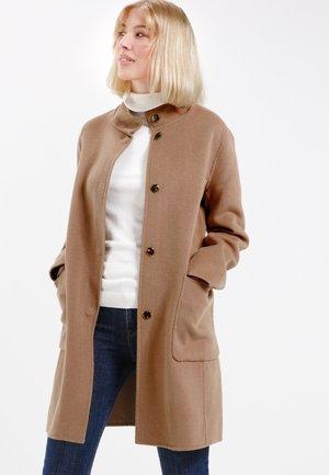 Classic coat - camel braun
