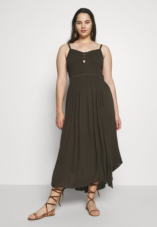 DRESS FREE SPIRIT - Vapaa-ajan mekko - khaki