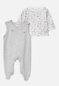 Jacky Baby - WELCOME UNISEX - Pyjama set - grey, white - 0