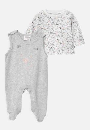 WELCOME UNISEX - Pyjama set - grey, white