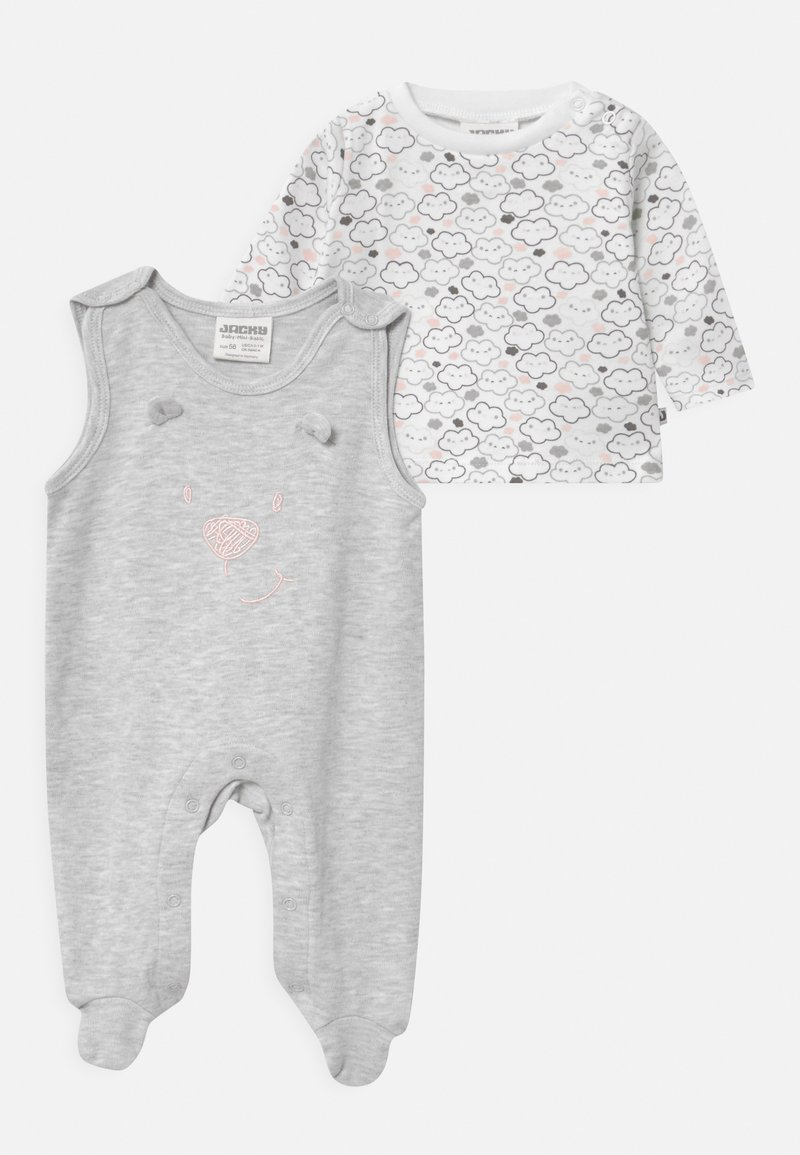 Jacky Baby - WELCOME UNISEX - Pyjama set - grey, white