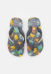 Havaianas - POKEMON - T-bar sandals - new graphite - 0