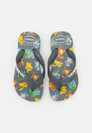 POKEMON - T-bar sandals - new graphite