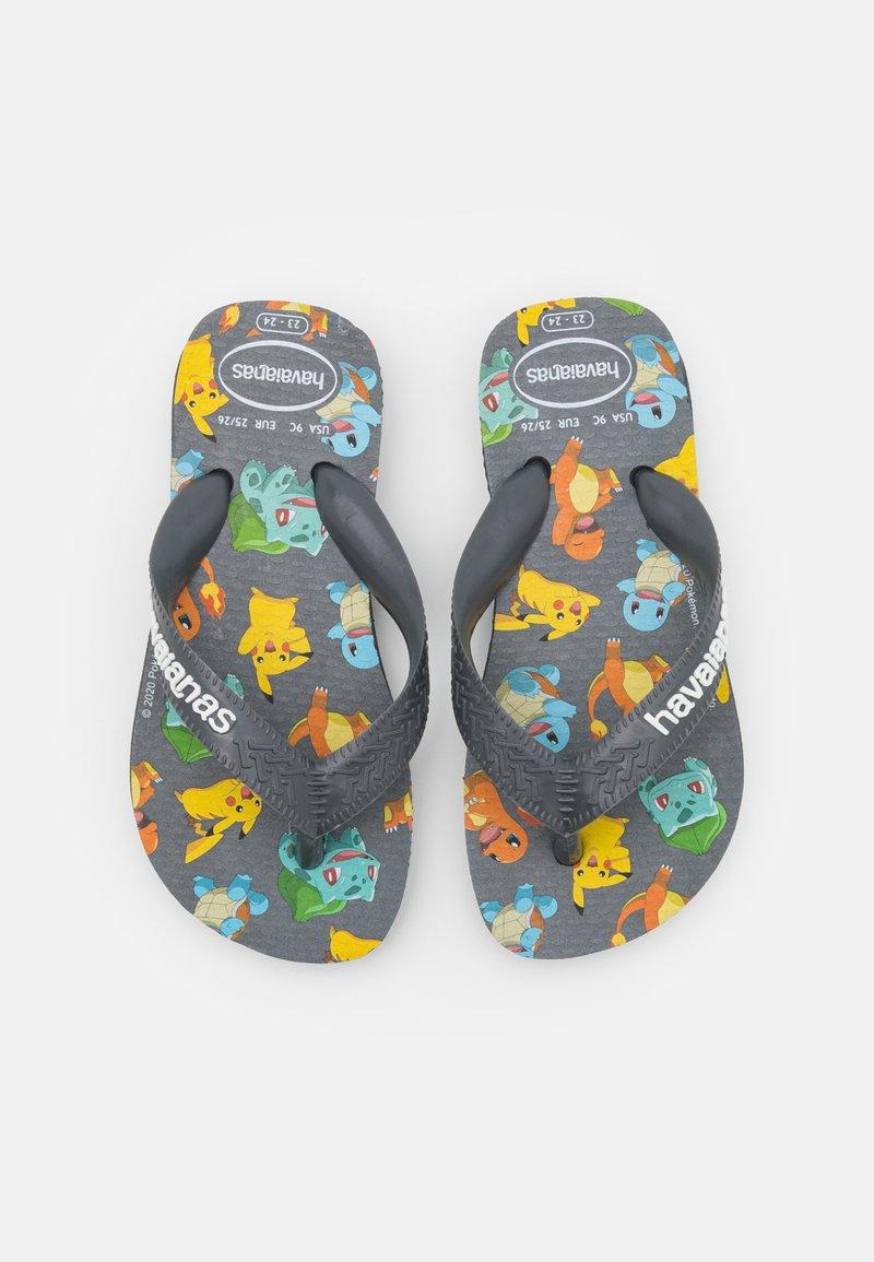 Havaianas - POKEMON - T-bar sandals - new graphite