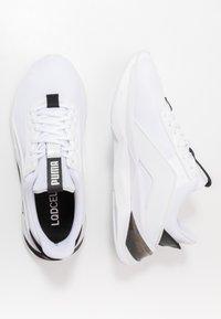 Puma - LQDCELL SHATTER XT GEO - Trainings-/Fitnessschuh - white/black - 1