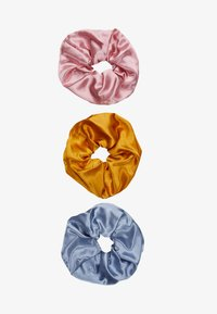 Pieces - PCSCALE SCRUNCHIE 3 PACK - Hair styling accessory - blush/yellow/blue - 3