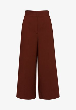 Trousers - chestnut